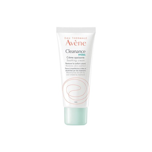 CLEANANCE HYDRA CREME APAISANTE PEAUX A IMPERFECTIONS IRRITEES ET DESSECHEES 40ML AVENE