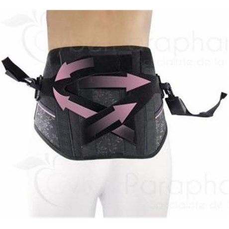 DOTOP LADY Lumbar support belt with extensor progressive resistance