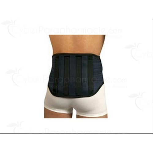 VERTÉLOMB, strong lumbar support belt, elastic knit for men and women