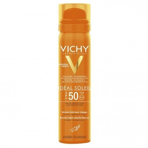 VICHY IDEAL SUN INVISIBLE FRESH MIST SPF50 FACE 75ML