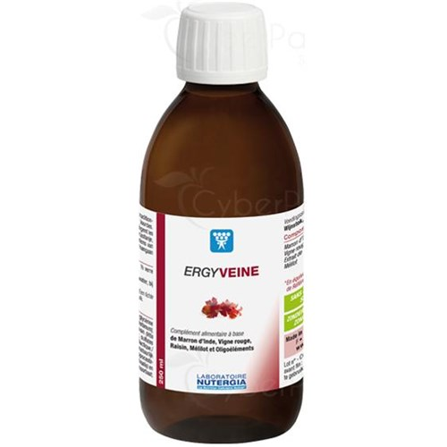 ERGYVEINE, oral solution, dietary supplement containing trace elements. - Fl 250 ml