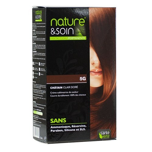 NATURE & SOIN color 5G Light Golden Chestnut