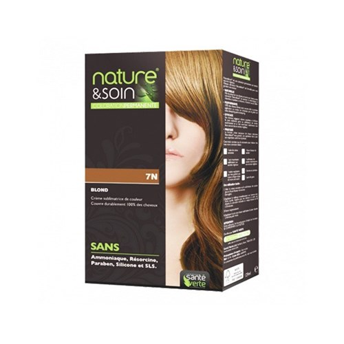 NATURE & SOIN color 7N blond