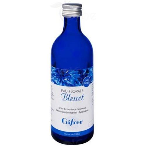 GIFRER FLORAL WATER BLUEBERRY, cornflower water. - Fl 200 ml