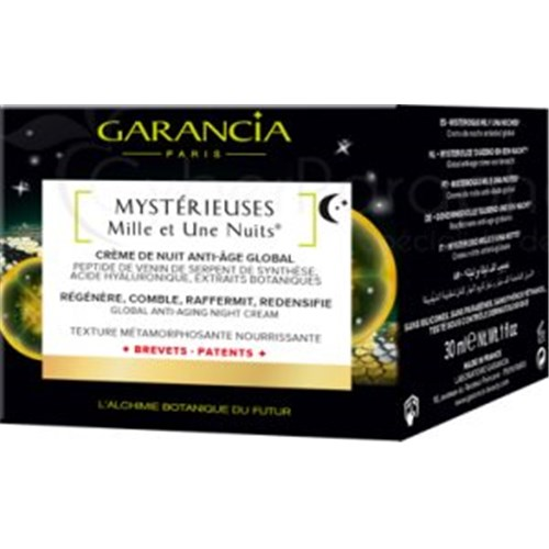 MYSTERIOUS MILLE AND ONE NIGHTS, Anti-Aging Global Night Cream, 30ml jar