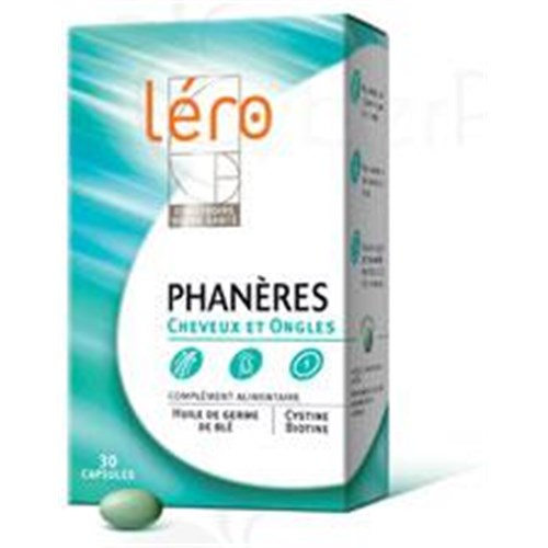 Lero APPENDAGES, Capsule, nutritional supplement for hair and nails. - Bt 90