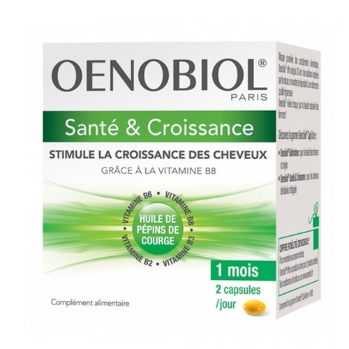 OENOBIOL HAIR CARE AND GROWTH 60 CAPSULES