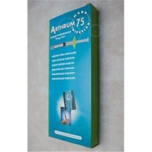 ARTHRUM 75 MONO INJECTION solution injectable (1x3ml)