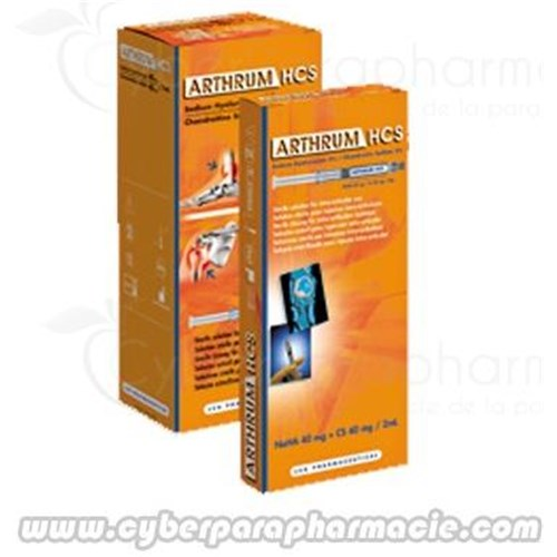 ARTHRUM HCS solution injectable (3x2ml)