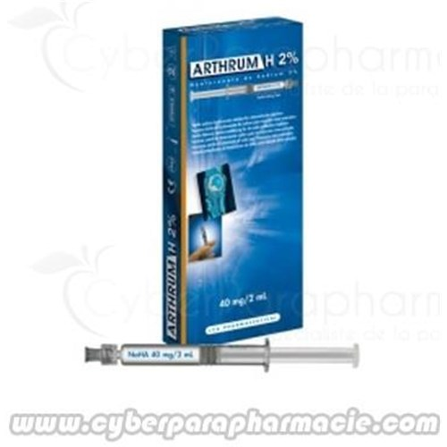 ARTHRUM H 2% solution injectable (3x2ml)