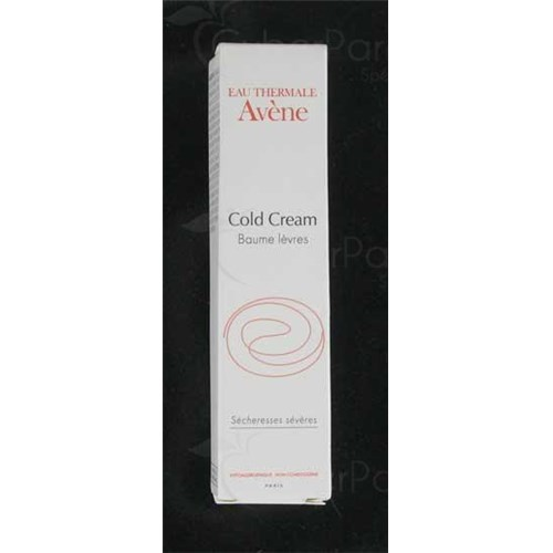 Avène Cold Cream Lip Balm, lip balm with cold cream. - 15 ml tube