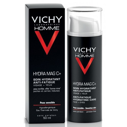 HYDRAMAG ANTI-FATIGUE MOISTURIZING CARE SENSITIVE SKIN 50ML VICHY MEN
