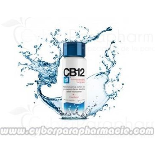 CB12 fresh breath mouthwash, 250ml bottle