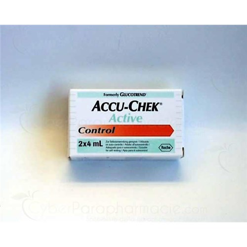 ACCU CHEK ACTIVE CONTROL - control solution vial 4 ml - bt 2