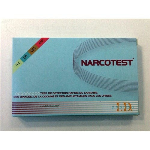 NARCOTEST 4 DRUGS, test for drugs, cannabis, opiates, cocaine and amphetamines. - Bt 4