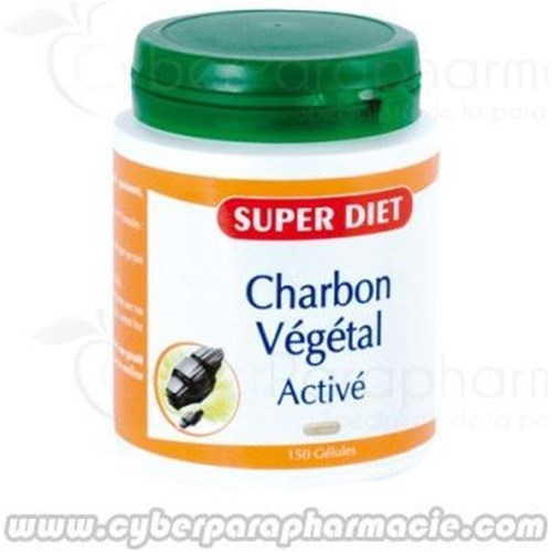 ACTIVATED CHARCOAL 150 capsules