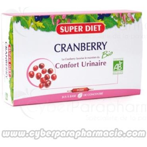 CRANBERRY BIO Urinary comfort 20 ampoules