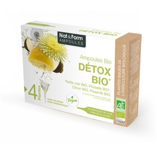 DETOX BIO 20 ampoules of 10 ml