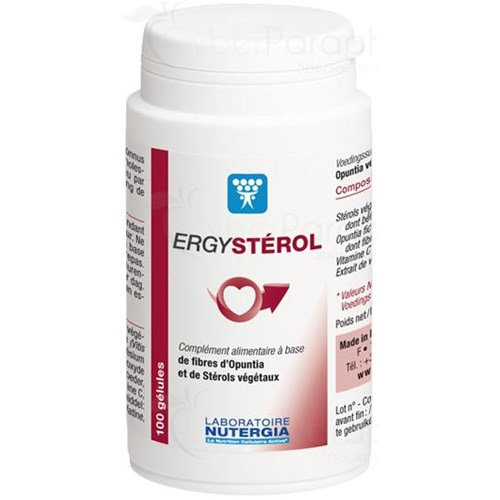 ERGYSTEROL Capsule dietary supplement rich in opuntia, phytosterols and antioxidants. - Bt 100