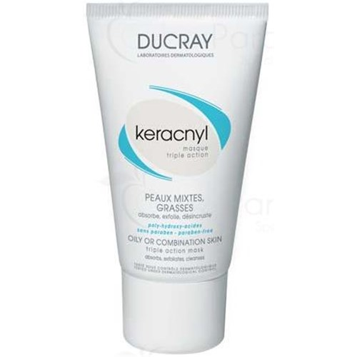 KÉRACNYL MASQUE TRIPLE ACTION, Masque gommant triple action aux PolyHydroxyAcides. - tube 40 ml