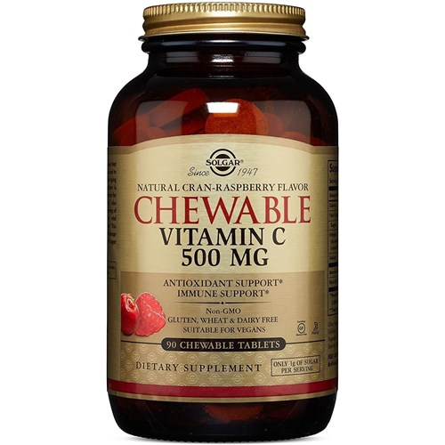 VITAMIN C 500 mg 90 Chewable tablets Raspberry / cranberry