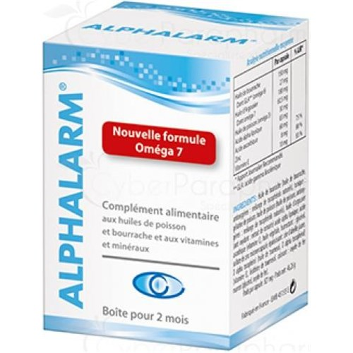 ALPHA LARM, Capsule dietary supplement eyepiece. - Bt 60
