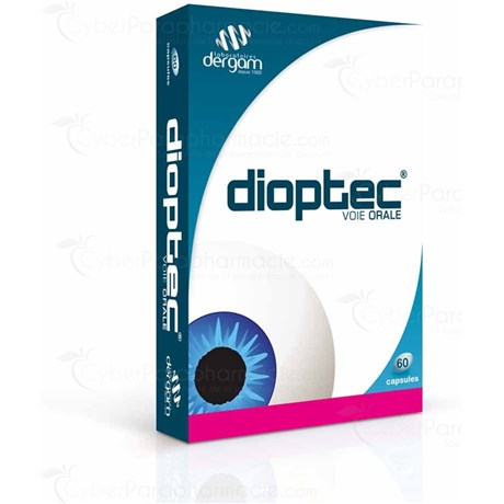 DIOPTEC, Capsule, natural food supplement to eyepiece. - Bt 60