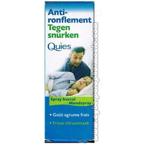 AGAINST-SNORING Mouth spray
