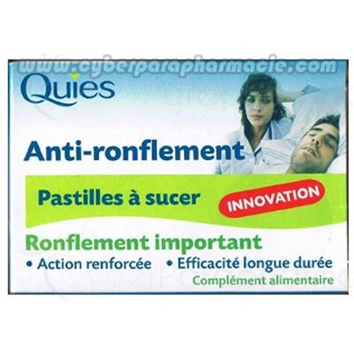 AGAINST-SNORING Pastilles sucking
