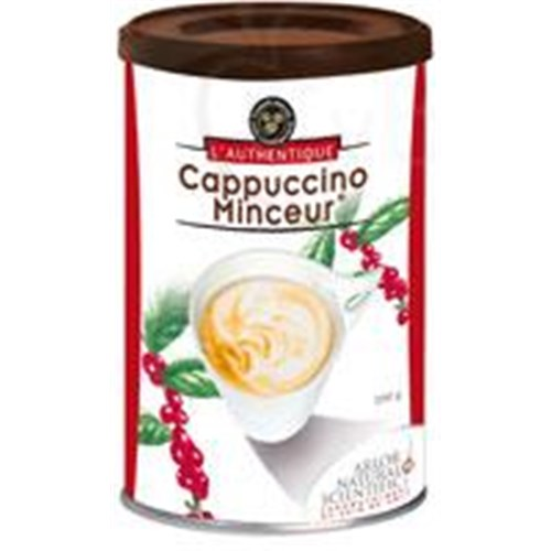 AUTHENTIC CAPPUCCINO LEAN powder, dietary supplement for weight, cappuccino. - 200 g pot