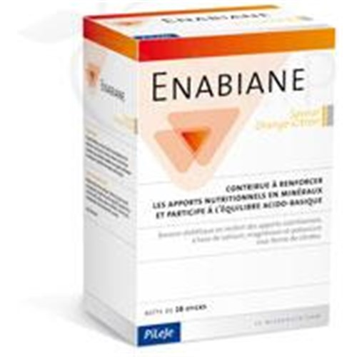Enabiane ORANGE, LEMON - Stick, diet drink mineral-based form of citrate. - Bt 28