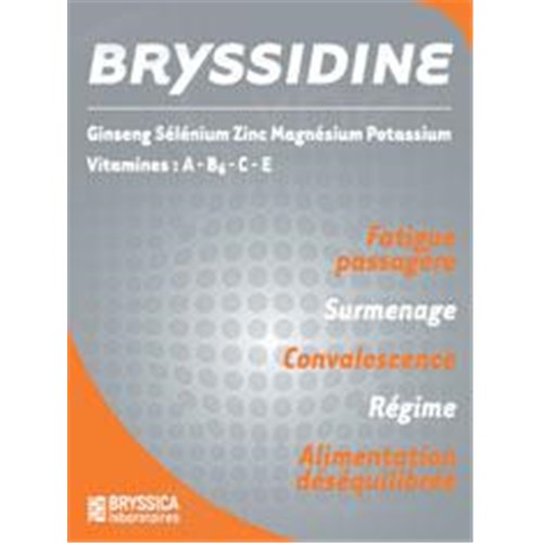 BRYSSIDINE Capsule dietary supplement ginseng. - Bt 30