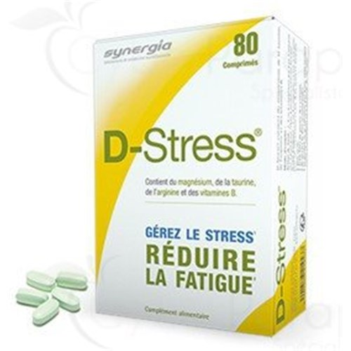 D-STRESS, anti-stress, box 80 tablets
