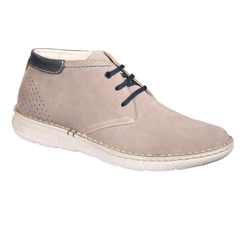 SERGIO ANKLE BOOT Taupe clair Homme