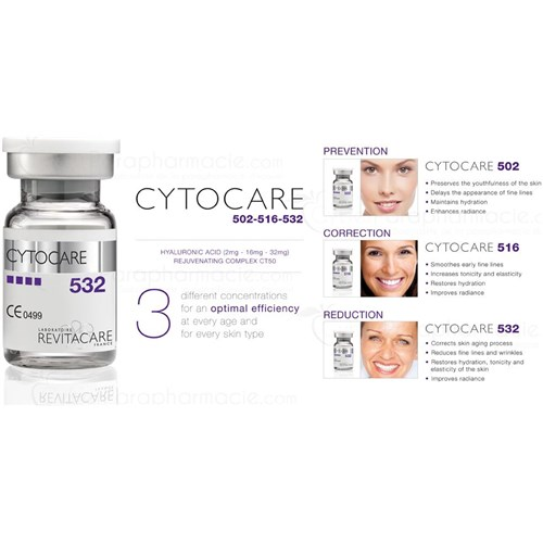 CYTOCARE 516 Acide hyaluronique (10x5ml)