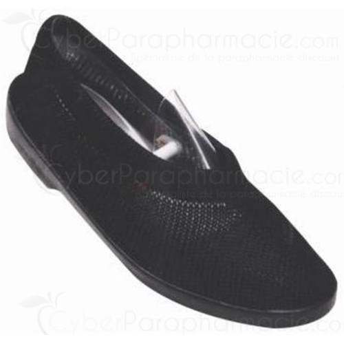 MAILLA BALLERINA BLACK closed shoe relaxation and comfort for women - pair