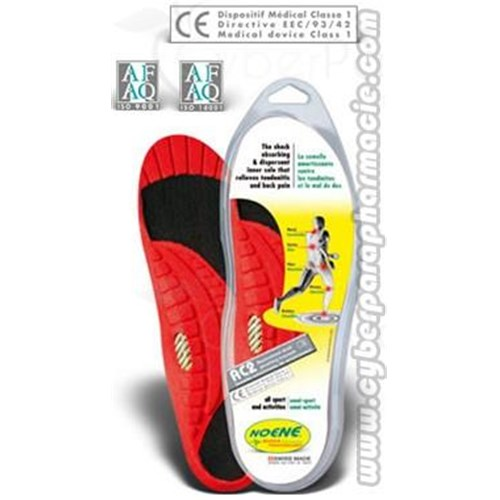 INSOLES Carbon arch atlas AC2 1 pair