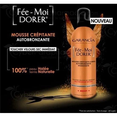 FAIR ME DORER® CREEPING FOAM SELF-BRONZING BODY, MOISTURIZING 400ML
