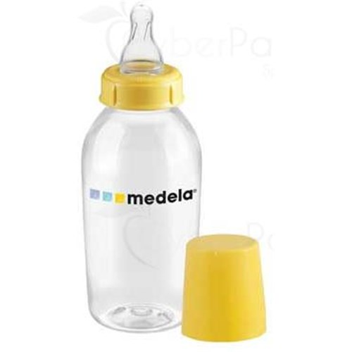 MEDELA BOTTLE 150 ml, full bottle screw plastic, BPA-free - Unit